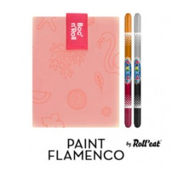 BOC N´ROLL PAINT NARANJA FLAMINGO + 2 ROTUS